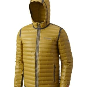 Columbia Titanium Outdry Ex Gold Down Hooded Coat